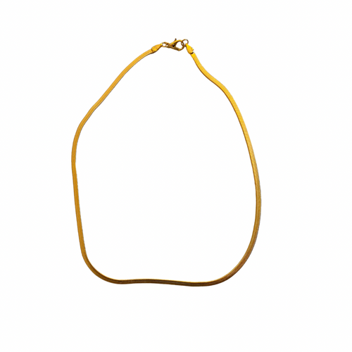 Snake Chain Necklace - Thin