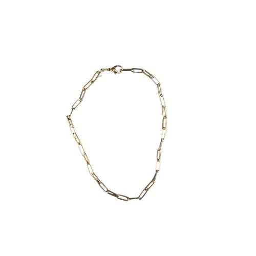 Paperclip Necklace — Thick