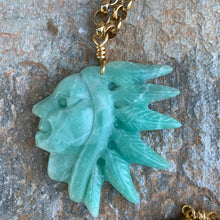 Load image into Gallery viewer, Warrior Necklace - Chrysophase