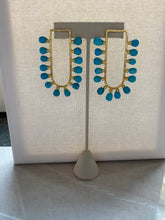 Load image into Gallery viewer, Turquoise Fiesta Earrings