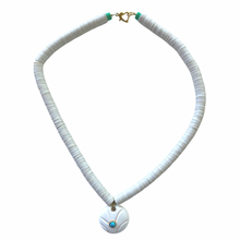 Load image into Gallery viewer, White Pool Necklace