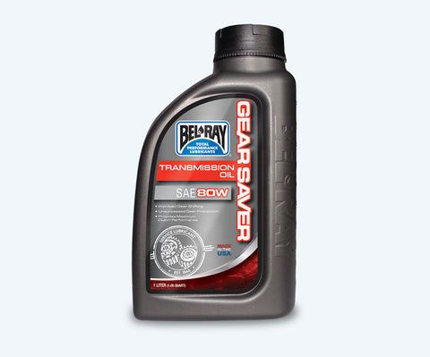 Bel-Ray Gear Saver Transmission Oil 80W (1L)