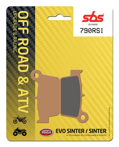 SBS 790RSI Brake pads Rear