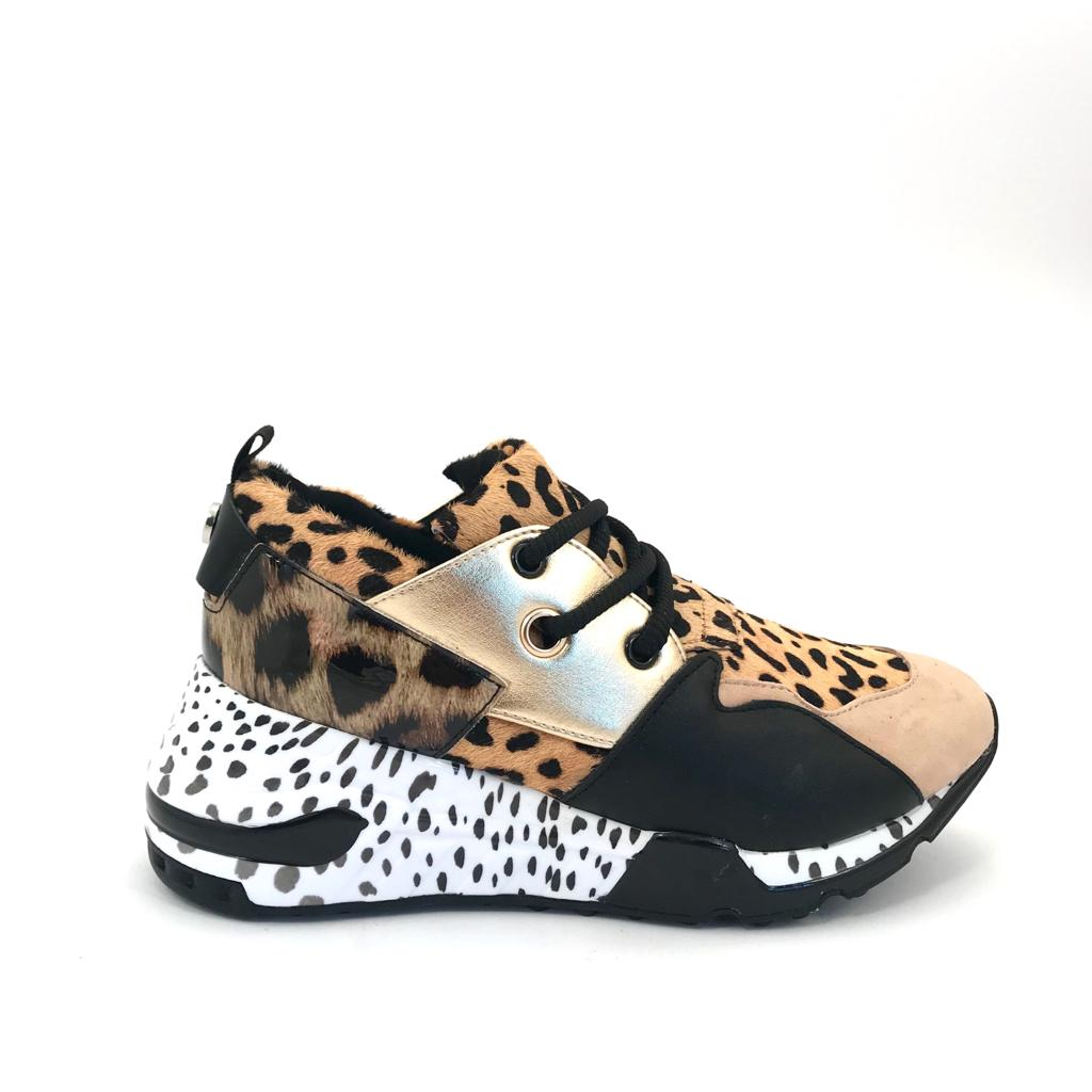 Steve Madden Cliff Animal Sneakers
