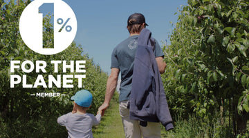 WE'RE JOINING 1% FOR THE PLANET!