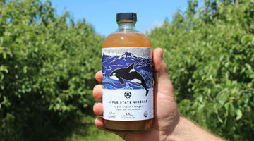THREE DELICIOUS USES FOR APPLE STATE VINEGAR: HEALTHY FOR THE PLANET AND FOR YOU!