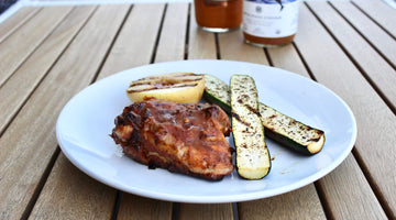 A Rhubarb BBQ Sauce for Taking Picnics to the Next Level