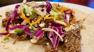 Shredded Beef Tacos with Slaw