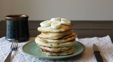 Fluffy Shrub Pancakes
