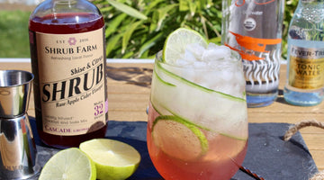 Celebrate Shrub Farm's 4th Anniversary with a Shiso Gin-and-Tonic!