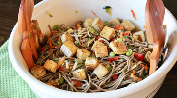 Ginger Apple Soba Salad