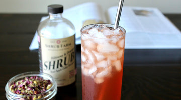 Stress-Ease Shrub Iced Tea