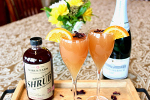 Hibiscus & Orange Shrub-Shrub-Apple State Vinegar