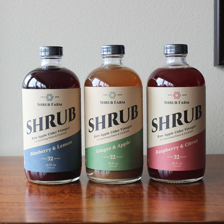 Cascade Flavors 16oz (3 pack)-Shrub-Apple State Vinegar