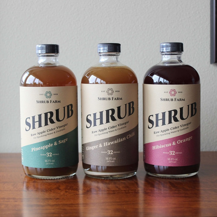 Maui Flavors 16oz (3 Pack)-Shrub-Apple State Vinegar
