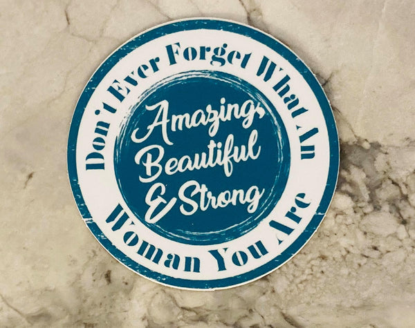 Amazing Ladies Sticker - Linewife