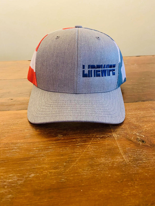 USA Linewife Flag Hat
