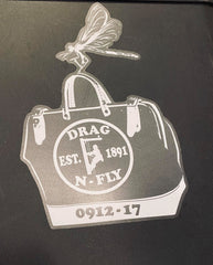 Drag-N-Fly Sticker