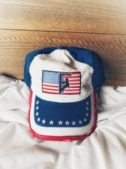 Linewife American Flag Hat