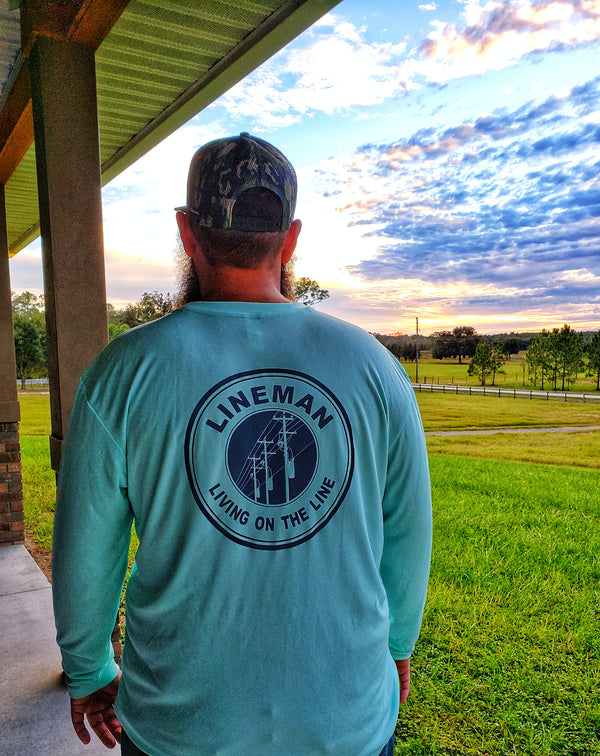 Lineman Men's Mint Dri-Fit - Linewife