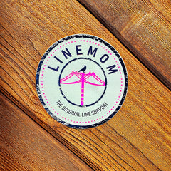LineMom Bell Stamp Sticker
