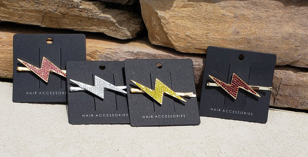 Lightning Bolt Hair Clips - Linewife