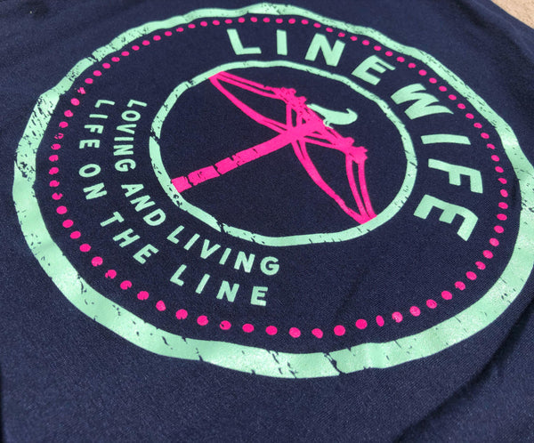 Navy Linewife Shirt - Linewife