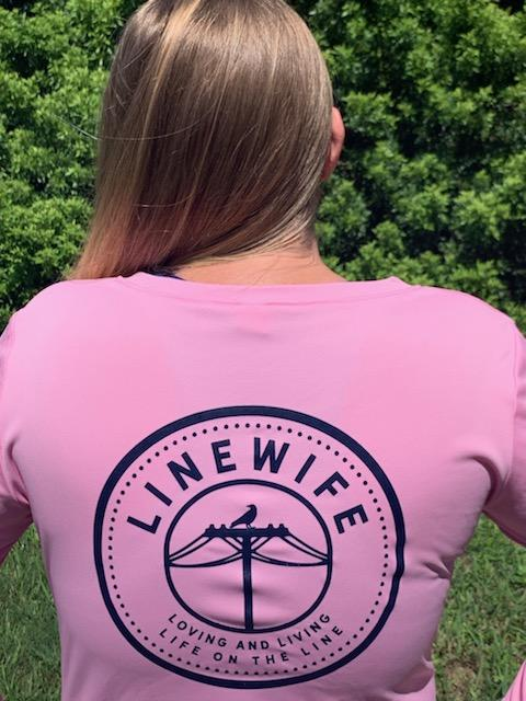 Ladies Pink Linewife Dri-fit - Linewife