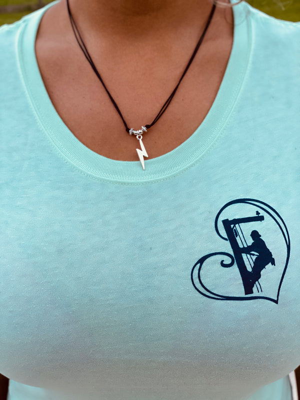 Lightning Bolt Cord Necklaces - Linewife
