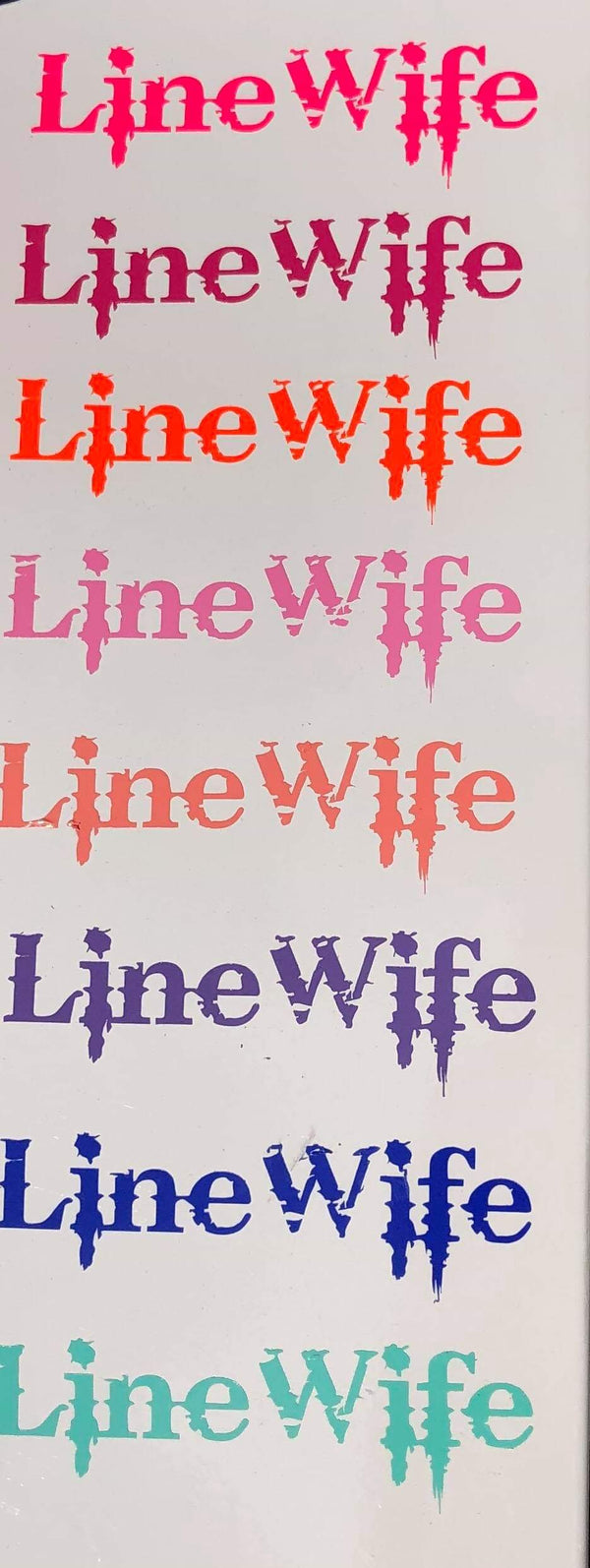 "4""x1.5"" Linewife Stickers"