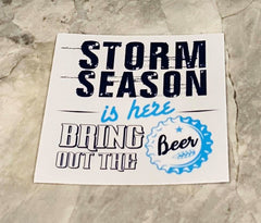 Storm Season Sticker