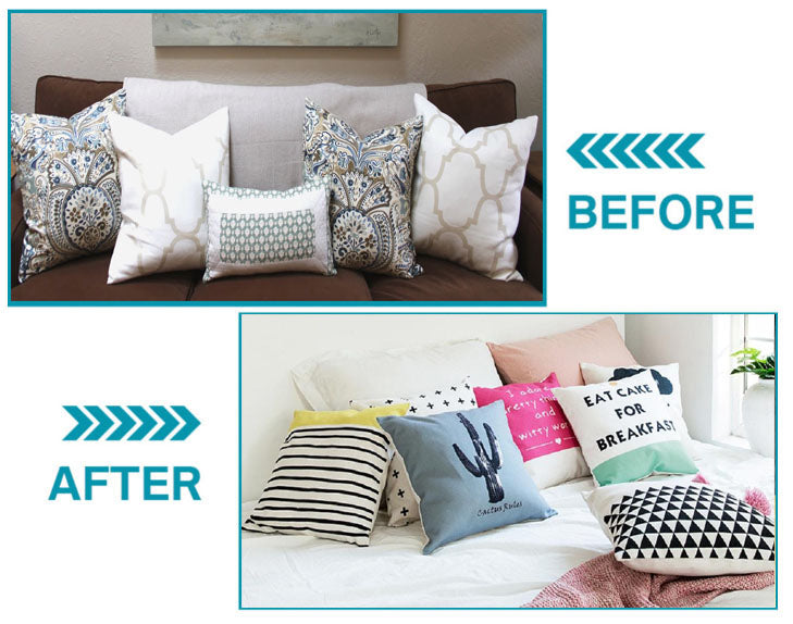 Why Pillow Covers? We have the solution. Whether you're looking to protect your new pillow from daily wear- and-tear, trying to add some chic style to your apartment, or hiding imperfections from your current pillow, this is the answer! Our Pillow Covers offer amazing protection and comfort!   Introducing our #1 rated Home Decor Store for sofa cover slipcover styles for every chair, couch, sofa, sectional, loveseat or single seater, sofa, recliner, futon, chaise. Stretchable waterproof, machine washable material, protective cover. Extreme comfort and protection from pets and kids.     Introducing our #1 rated Home Decor Store for sofa cover slipcover styles for every chair, couch, sofa, sectional, loveseat or single seater, sofa, recliner, futon, chaise. Stretchable waterproof, machine washable material, protective cover. Extreme comfort and protection from pets and kids.    Introducing our Decor Home Store Plain Color Sofa Cover Slipcover. #1 rated sofa cover styles for every chair, couch, sofa, sectional, loveseat, single seater, recliner, futon, chaise, cushion, and throw pillows. Stretchable material, machine washable cover. Extreme comfort and protection from pets and kids.     How Do I Install Sofa Covers? To ensure your sofa cover fits snug, follow our simple Installation Guide below  Introducing our #1 rated Home Decor Store for sofa cover slipcover styles for every chair, couch, sofa, sectional, loveseat or single seater, sofa, recliner, futon, chaise. Stretchable waterproof, machine washable material, protective cover. Extreme comfort and protection from pets and kids.    Introducing our #1 rated Home Decor Store for sofa cover slipcover styles for every chair, couch, sofa, sectional, loveseat or single seater, sofa, recliner, futon, chaise. Stretchable waterproof, machine washable material, protective cover. Extreme comfort and protection from pets and kids.    Sofa Care PROTECTION AND CARE Our pillow cover shields and protects your pillows from spills, s