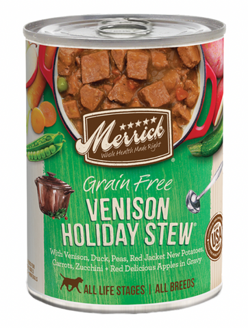 Venison Holiday Stew
