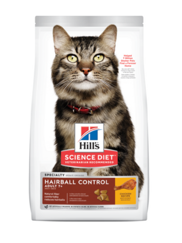 Adult 7+ Hairball Control