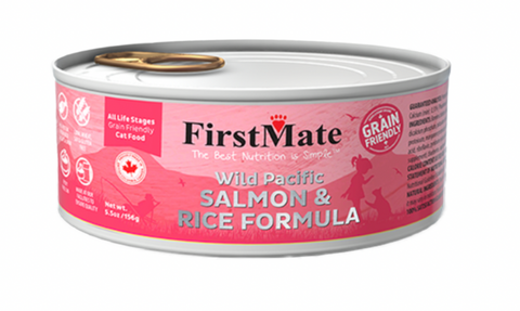 Wild Pacific Salmon & Rice Formula