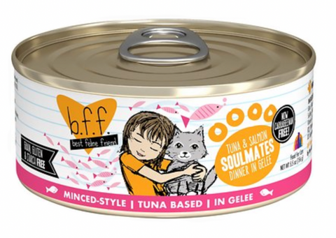 B.F.F. Tuna & Salmon in Gelee