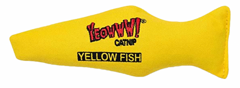 Yellow Catnip Fish