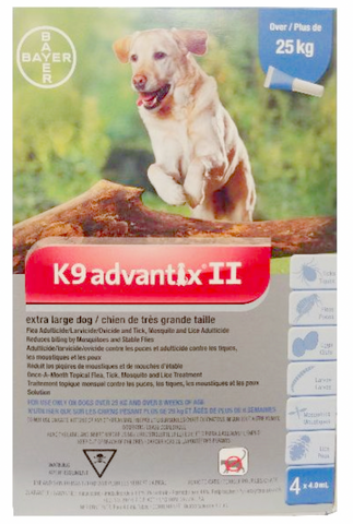 K9 Advantix II for Extra Large Dogs