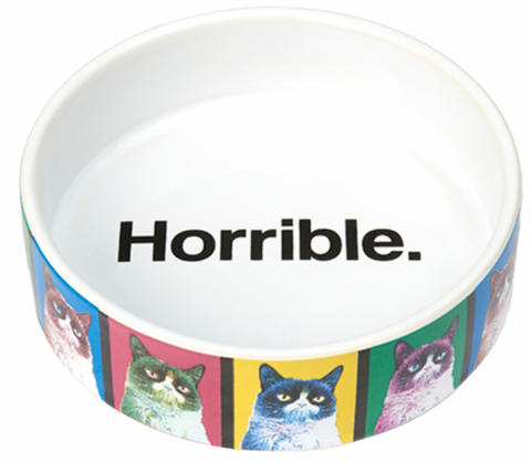Grumpy Cat Shallow Bowl
