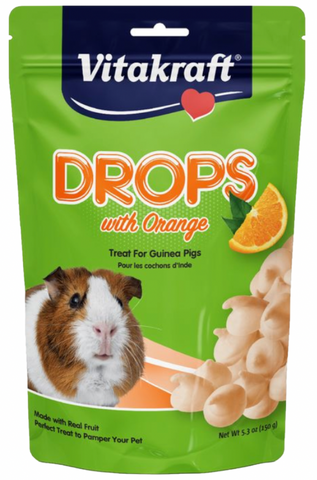 Guinea Pig Drops with Orange