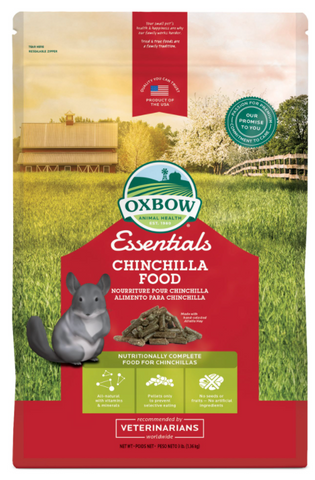 Chinchilla Food