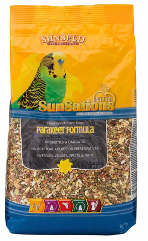 SunSations Parakeet Formula