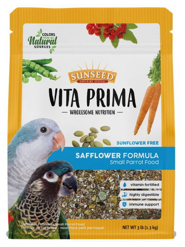 Vita Prima Safflower Small Parrot Food