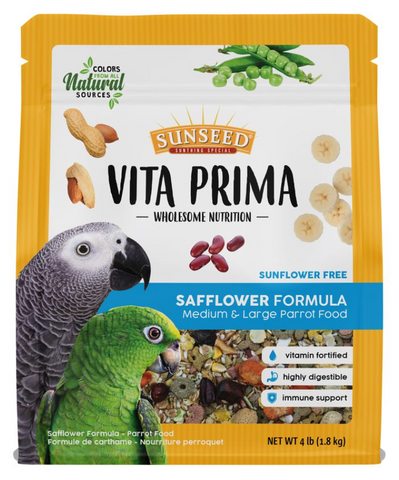 Vita Prima Safflower Medium/Large Parrot Food
