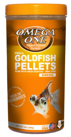 Small Goldfish Pellets