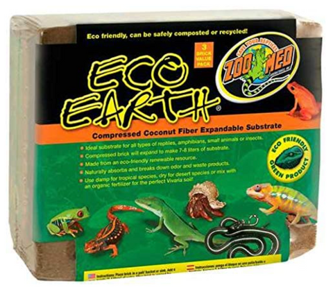 Eco Earth Compressed Coconut Fiber
