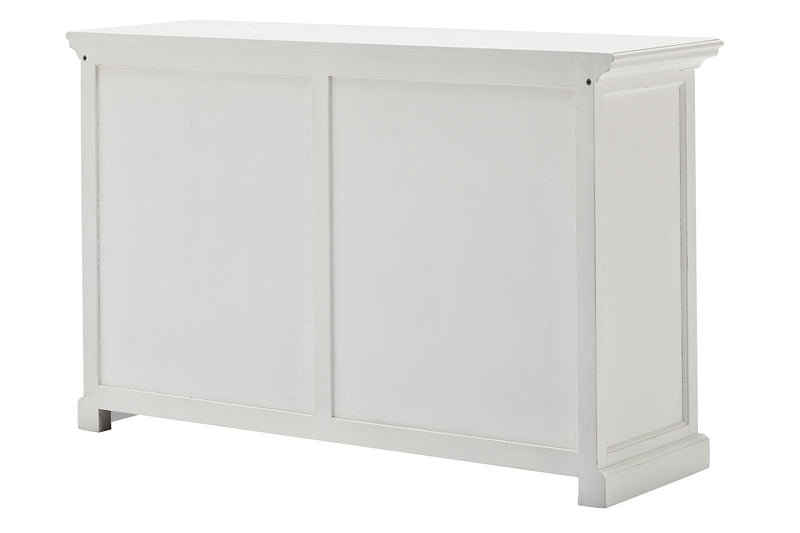 Halifax Buffet with Sliding Doors - White