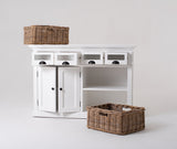 Halifax Kitchen Buffet - White