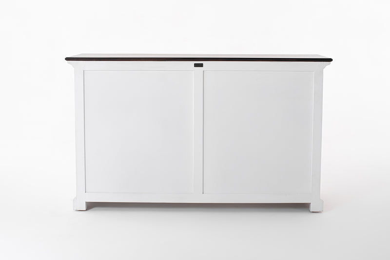 Provence Accent Buffet - White With Dark Brown Top