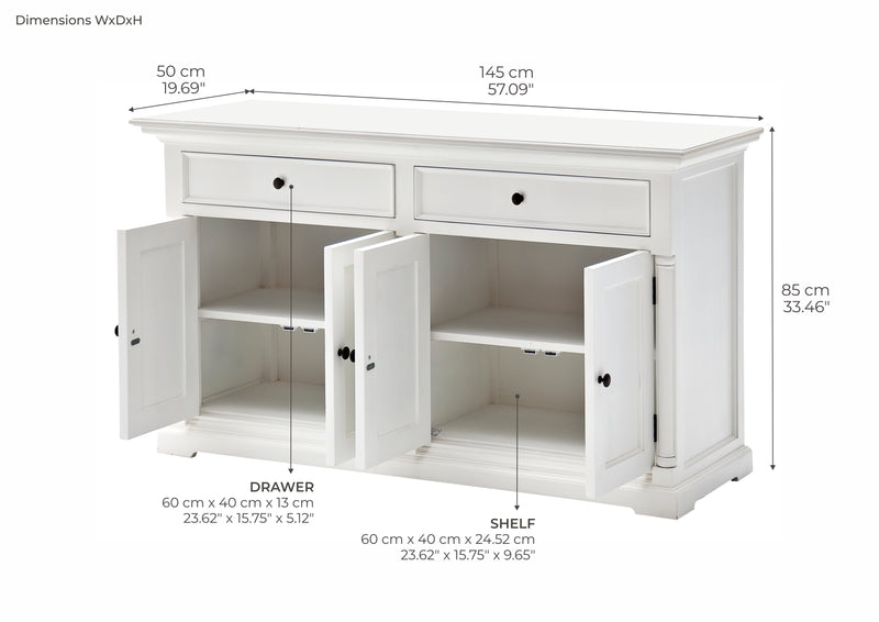 Provence Buffet - White